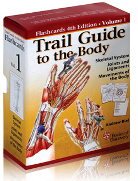 Trail Guide to the Body – Flashcards 4th Edition