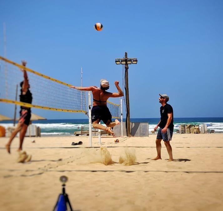 מעקב פיזיולוגי לנבחרת כדורעף החופים