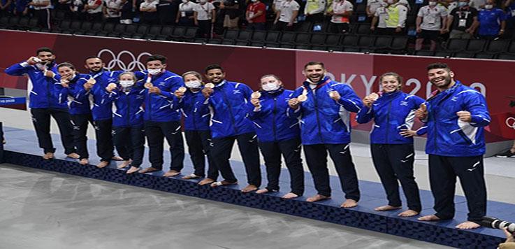מדליית ארד קבוצתית לנבחרת הג'ודו של ישראל