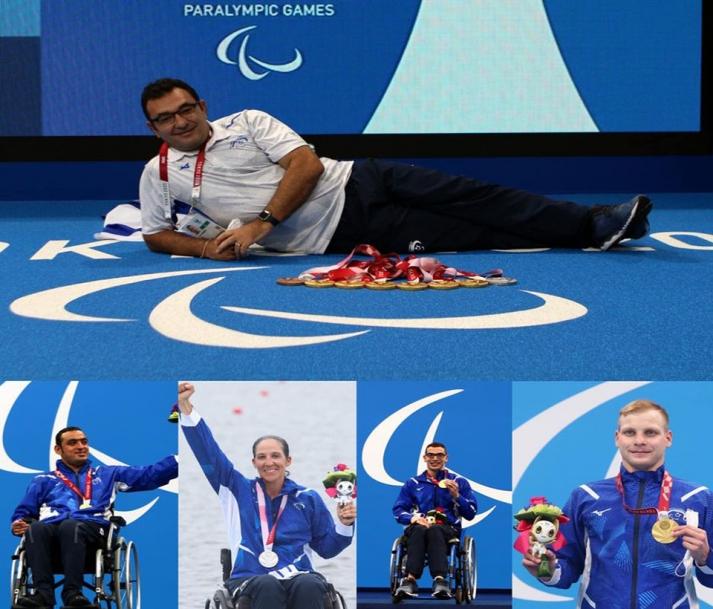 טוקיו 2020: תודה רבה לנבחרת הפראלימפית